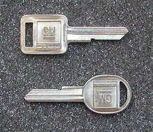 1981, 1991-2002 Chevrolet Kodiak Truck Key Blanks