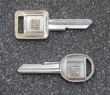 1975, 1979, 1983-1986 Chevrolet G-Series Van Key Blanks
