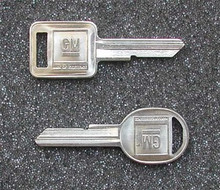 1971, 1975, 1979, 1983-1985 Chevrolet Corvette Key Blanks