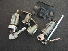 1974-1975 Mercury Comet Ignition, Door and Trunk Locks