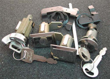 1974-1975 Lincoln Continental Ignition, Door and Trunk Locks