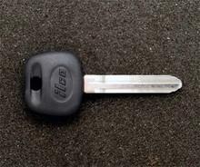 2007-2009 Toyota Yaris Transponder Key Blank
