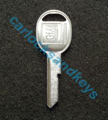 OEM GM Buick Cadillac Chevrolet Oldsmobile Pontiac 'B' Key Cut To Your Key Code