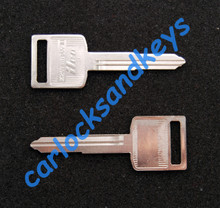 2009 - 2018 Suzuki TU250X Key Blanks