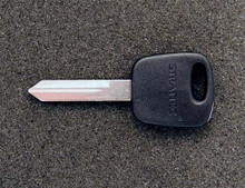 1997-1998 Lincoln Mark VIII Transponder Key Blank