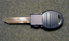 2008 Jeep Commander Transponder POD Key Blank
