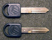 1996-1998 Mercury Sable GS Mercury Logo Key Blanks