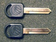 1993-1995 Mercury Sable GS and LS Mercury Logo Key Blanks