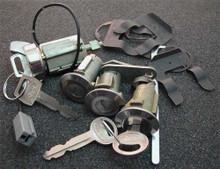 1981-1982 Mercury Lynx Ignition, Door and Trunk Locks