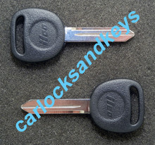 1999-2006 GMC Savana Van Key Blanks