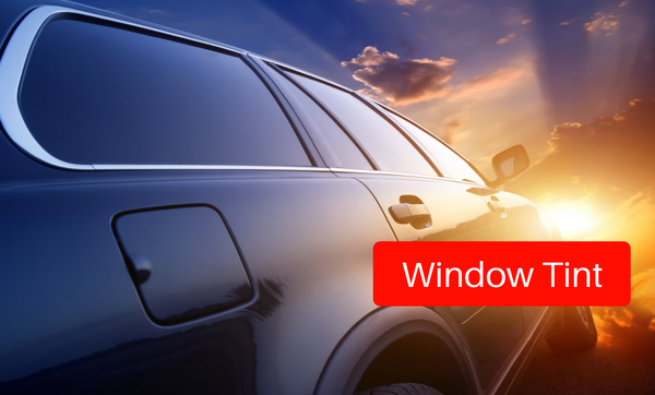Window Tinting at Stereo West Autotoys from $119 and up