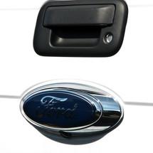 2009-2014 Ford F-150, F250, F350, Black Emblem OEM Style Camera