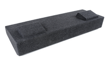 "Atrend A184-10CP Dual 10"" Carpeted Finish Vehicle Specific Enclosure for 2014 - 2016 GM Crew Cabs"