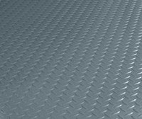 "If rain, snow and ice aren't an issue and GREAT LOOKS and DURABILITY are what you're looking for, check out our BLT Commercial Grade Diamond Tread pattern garage flooring. Commercial Grade Diamond Tread pattern garage flooring is available in 3 standard sizes (.075"" in thickness). NOTE: No charge for shipping."