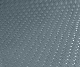 "BRAND NEW! If rain, snow and ice aren't an issue and GREAT LOOKS and DURABILITY are what you're looking for, check out our BLT Industrial Grade Diamond Tread pattern garage flooring. Industrial Grade Diamond Tread pattern garage flooring is available in 2 standard sizes (.085"" in thickness). NOTE: No charge for shipping."