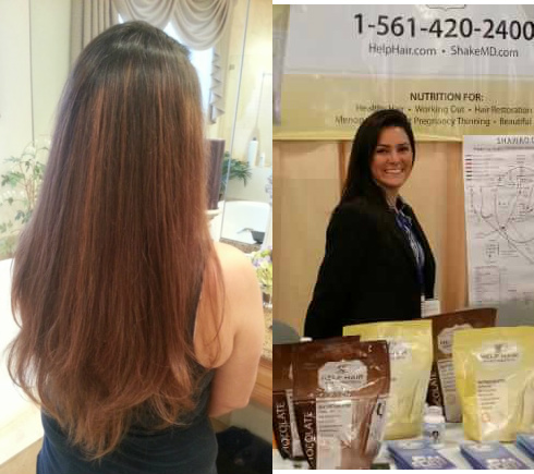 Hair Vitamins, Hair Loss Vitamins for hair growth and Help Hair Shake a protein shake for hair, thinning hair and working out