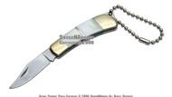 Mother of Pearl Handle Key Chain Pocket Folder Knife 1
