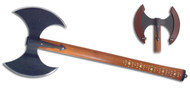 Medieval Style Viking Hero Double Bladed Axe by Paul Chen / Hanwei XH1074