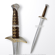 "28"" Foam Fantasy Anime Short Sword Dagger Video Game Weapon Cosplay Costume LARP"
