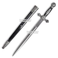 21.5 Masonic Ceremonial Dagger Mason Knights of Templar Historial Short Sword