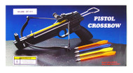 50 lbs Crossbow Taiwan Made Reinforced Fiber Glass Stock Body with 2 Plastic Bolts Arrows