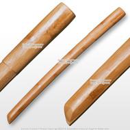 """22"""" Lightweight Compressed Bamboo Bokken Bokuto Kendo Practice Sword Kodachi"""