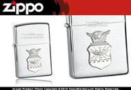 US Air Force Crest Zippo Lighter Brand New 280AFC