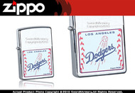 Los Angeles Dodgers Zippo Lighter Brand New 24593