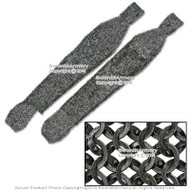 Functional Medieval Chainmail Legging Chausses Flat Ring Round Riveted SCA LARP