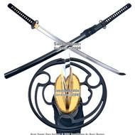 Musashi Brand Handmade Samurai Katana Sword Edo 1060 Differential Harden Steel