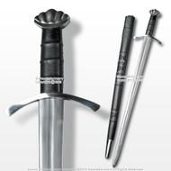 "40"" Handmade Scandinavian Norseman Spatha Viking Sword w/ Steel Pommel Fitting"