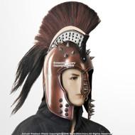 Copper Coated Punk Greek Trojan Corinthian Helmet with Spikes Wild Wild West