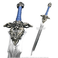 47' World of Warcraft Royal Guard Sword Alliance Lion Sigil Movie Prop Replica