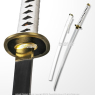 White Rider Katana Hand Honed Samurai Cutting Sword Sharp Blade