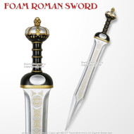"32"" Foam Roman Crown Gladius High Density Imperial Legion Centurion  Larp Cosplay Sword"