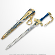 "8"" Anime Dagger Fate Stay Night Mini Sword Lily Excalibur Letter Opener Knife"