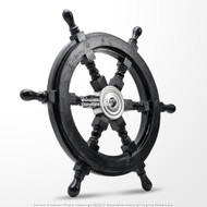 "18"" Nautical Ship Steering Wheel"