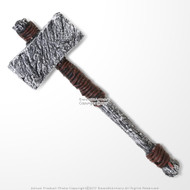 "25"" Viking Prehistoric Bronze Age Foam Hammer LARP Cosplay God of Thunder Costume Prop Accessory"