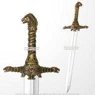 "27"" Games Of Thrones Officially licensed OathKeeper Foam Sword HBO TV LARP"
