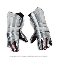 Medieval Knight Gauntlets Functional Steel Armor Gloves  20G Steel SCA LARP