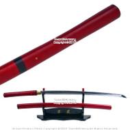 Ryujin Brand Handmade Japanese Shirasaya Samurai Katana Sword Sharp Blade Carbon Steel