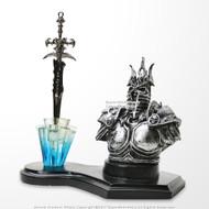 Demon Knight Fantasy Letter Opener Display Stand For Desk/ Home Decor