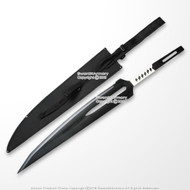 Ichigo Zanpakuto Dual Wield Bleach Anime Fantasy Sword Video Game Weapon Replica