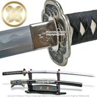 Skyjiro Brand S7 Kaiyou Ocean Forge Folded Kobuse Handmade Samurai Katana Sword