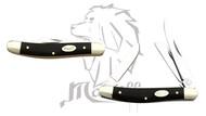 Mastiff Bull Horn Handle Triple Blade Stainless Steel Pocket Folder Knife