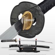 Ryujin T10 Steel Dragon Handmade Samurai Katana Sowrd w/ Bohi Bull Horn Scabbard