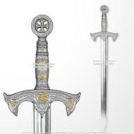 """41"""" Medieval SparkFoam Knights Templar Sword"""