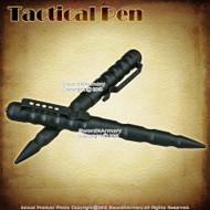 "6"" Black Self Defense Security Tactical Pen Kubaton Groove Handle Glass Breaker"