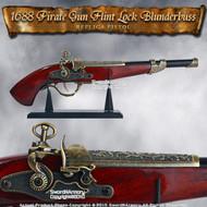 1688 Pirate Gun Flint Lock Blunderbuss Replica Pistol 1