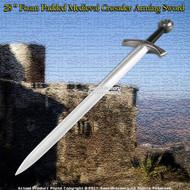 "39 "" Foam Padded Medieval Crusader Arming Sword LARP"